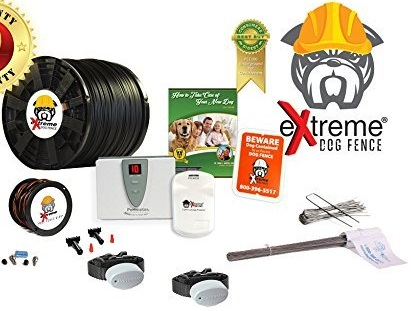 eXtreme Dog Fence - Second Generation In-Ground Electric Dog Fence Featured