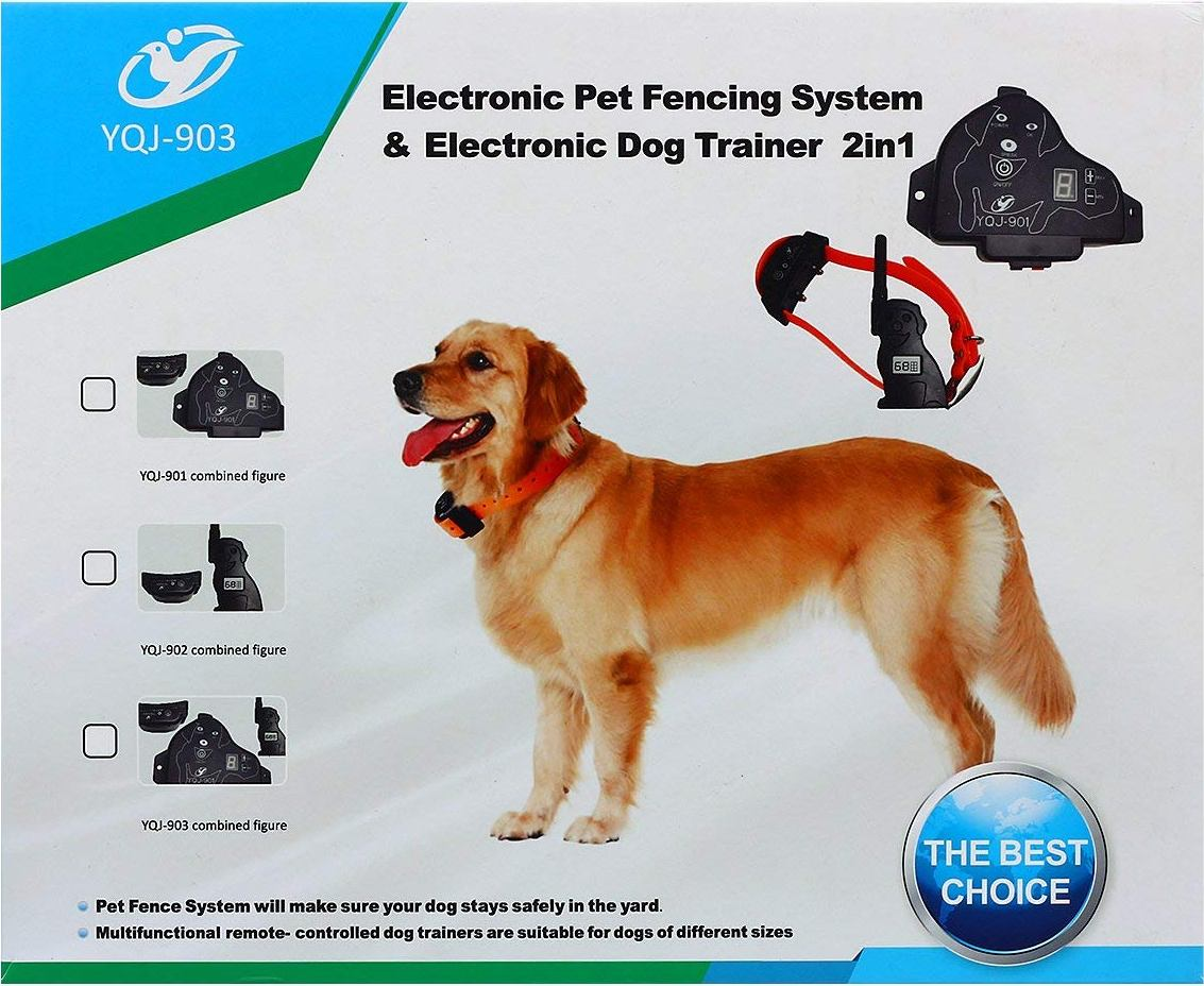 Best Wireless Dog Fence With Two Collars Wireless Dog
