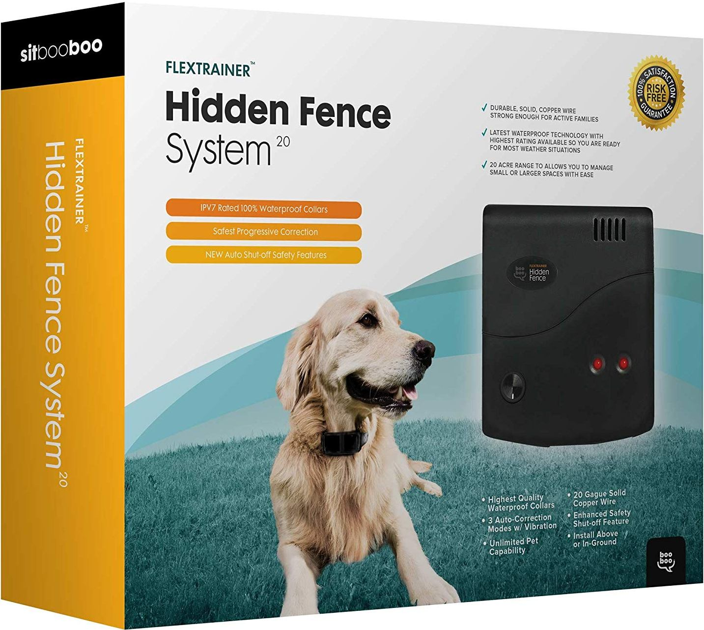 Best Wireless Dog Fence With 2-Acre Coverage - Wireless