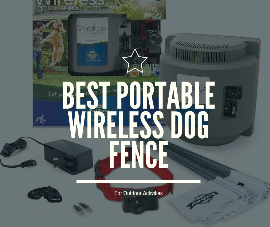 Best Portable Wireless Dog Fence For Outdoor Activities 2019